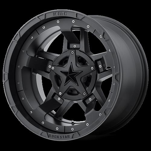 XD827 Rockstar 3 Matte Black