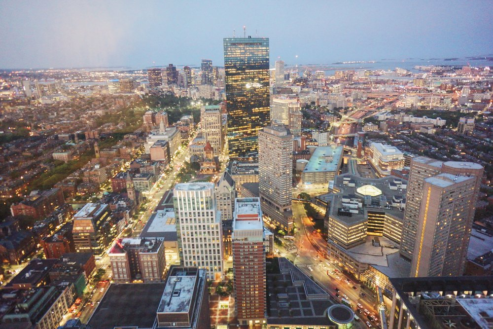 Views from the Prudential Tower