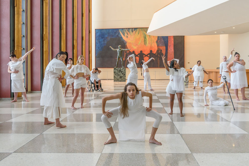 Heidi Latsky Dance ON DISPLAY United Nations