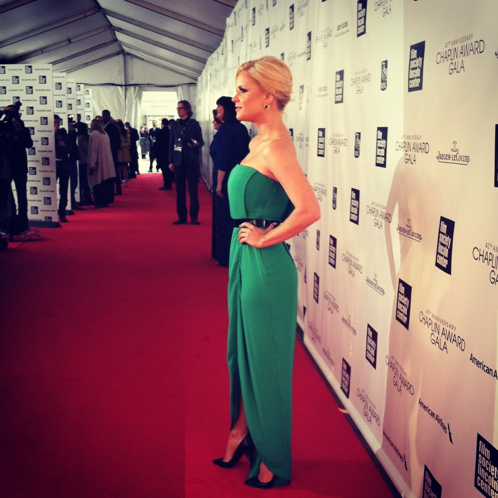 Carrie Keagan on red carpet for Lincoln Center Gala honoring Barbra Steisand.jpeg