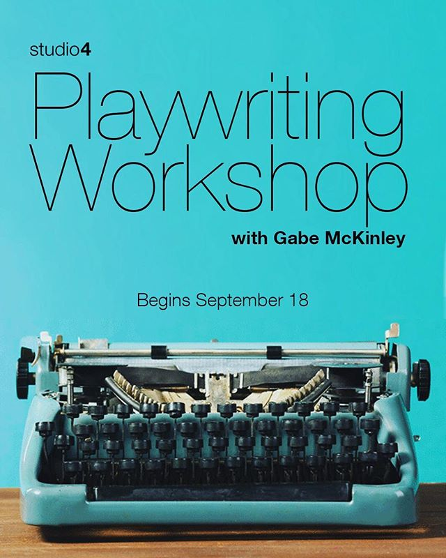 Our Playwriting Workshop with Gabe McKinley returns September 18th!  This course is rooted in character and narrative structure, with emphasis on a traditional play's arc - beginning, turning point, and ending.  In class exercises are designed to circumvent students' natural self-defense mechanisms, to silence the editor voice, to trust first instincts, and to encourage students to write both visually and concretely.  Register now at studio4ny.com!#plays #playwriting #writer #writing #studio4 #studio4nyc #nyc #playwright #oneactplay