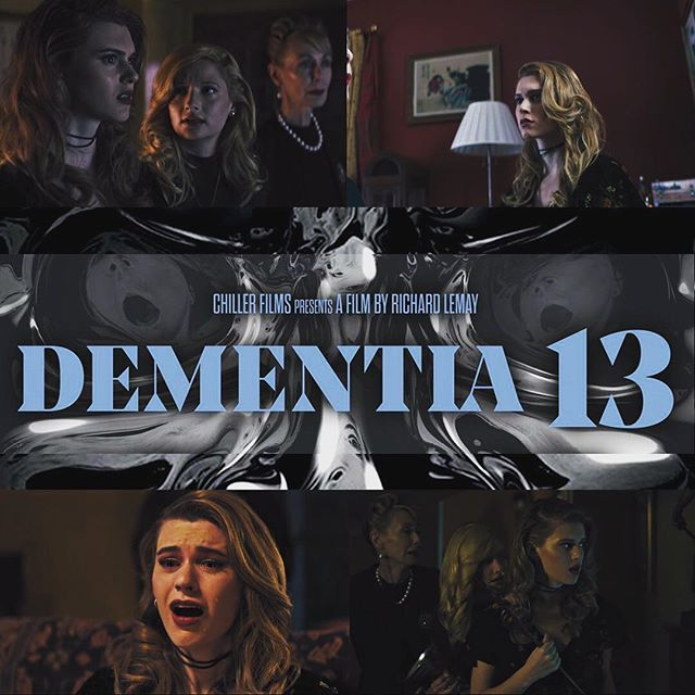 Head on over to Entertainment Weekly and check out the trailer for Dementia 13 starring our former student @mariannenoscheze.  The modernized remake of Francis Ford Coppola's debut film follows an old-money family still dealing with the death of their youngest daughter.  Dementia 13 is in theaters October 6th!