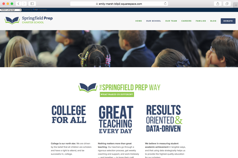 Springfield Prep Website