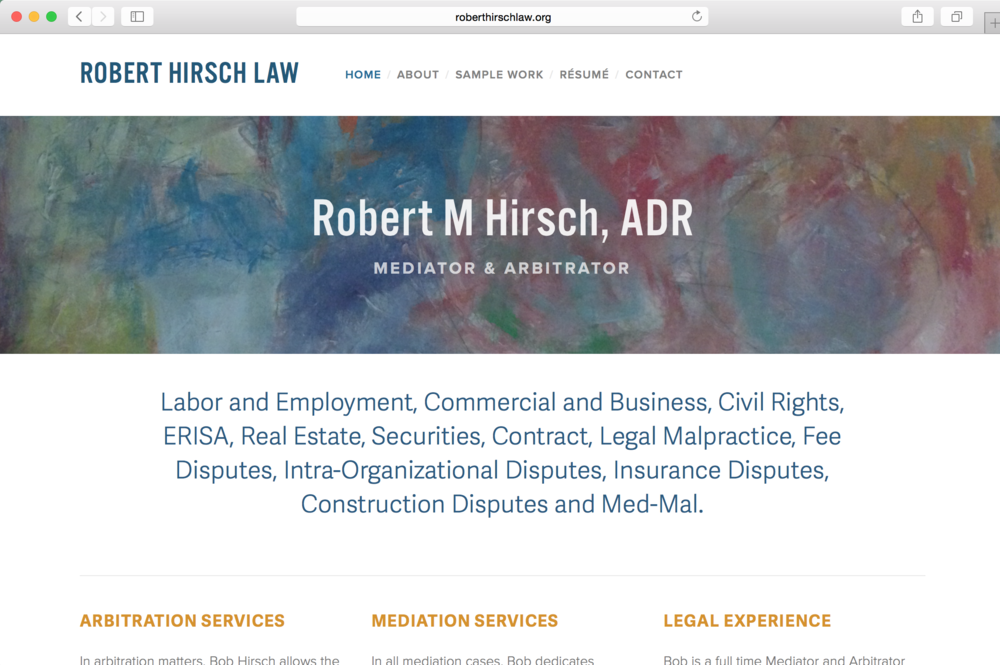 Robert Hirsch Law