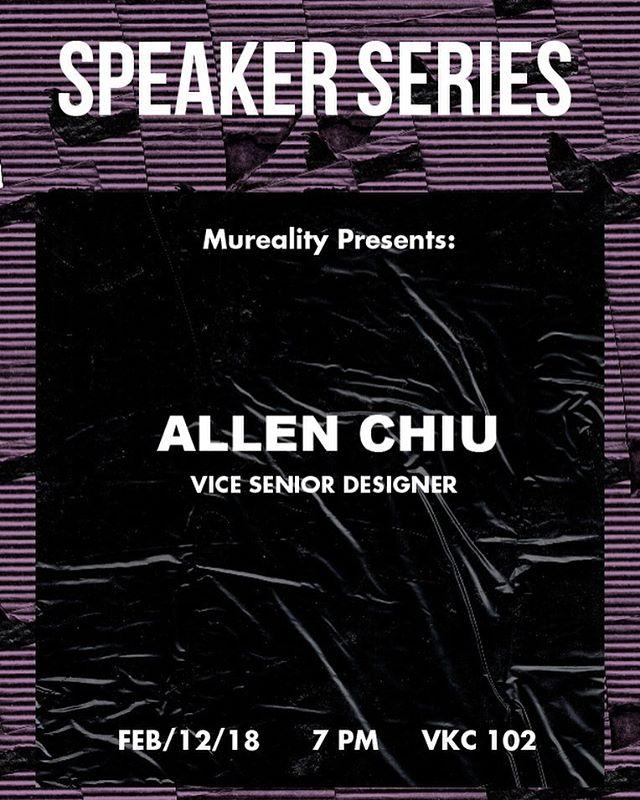 speaker series is back‼️ bring yo mom bring ur friends bring yo pet 🚨🚨
