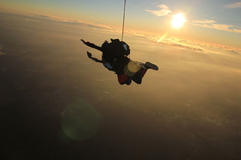 Sex While Skydiving Video