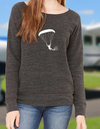 The stylish wide neck sweater - for the jumper who wants to show off HER PRETTY shoulders. ADDS 100 POINTS TO THE FLYING SKILLS TOO!