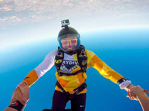 pHOTO BY NADIA MAZURE @ SKYDIVE CROSS KEYS