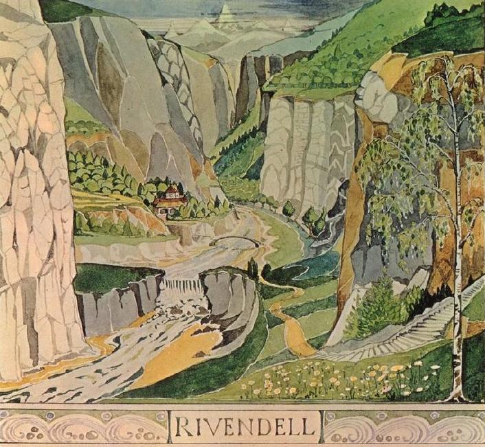 J.R.R. Tolkien,  Rivendell