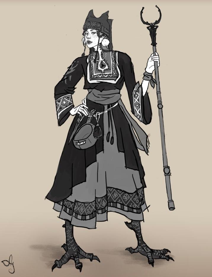 Anna Soldatova ,  The Young Witch Baba Yaga , 2015.