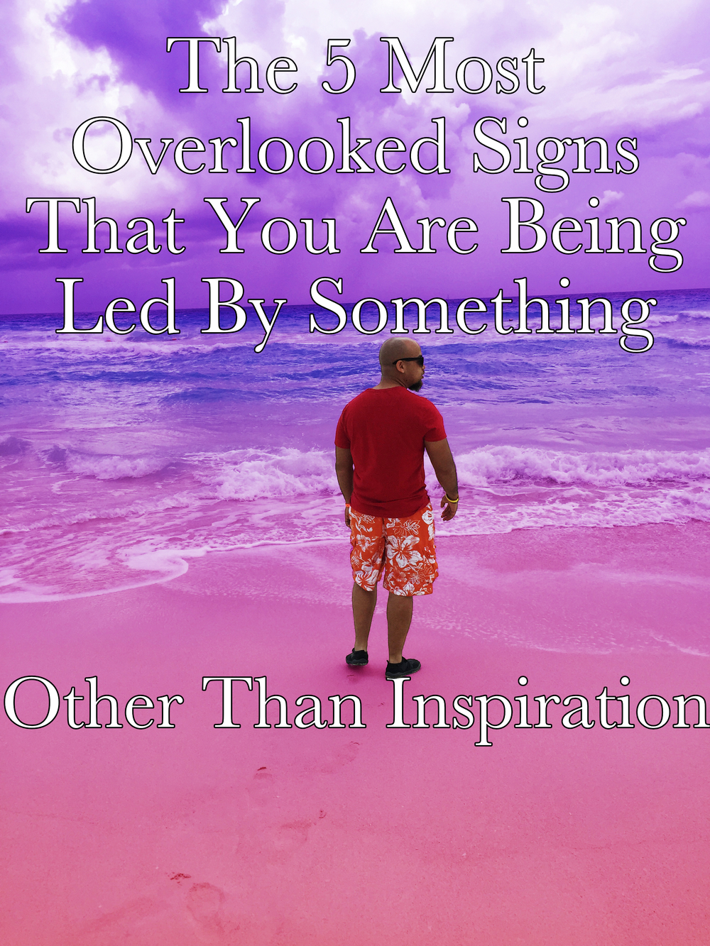 5 signals that you are led something other than inspiration Begotten Life