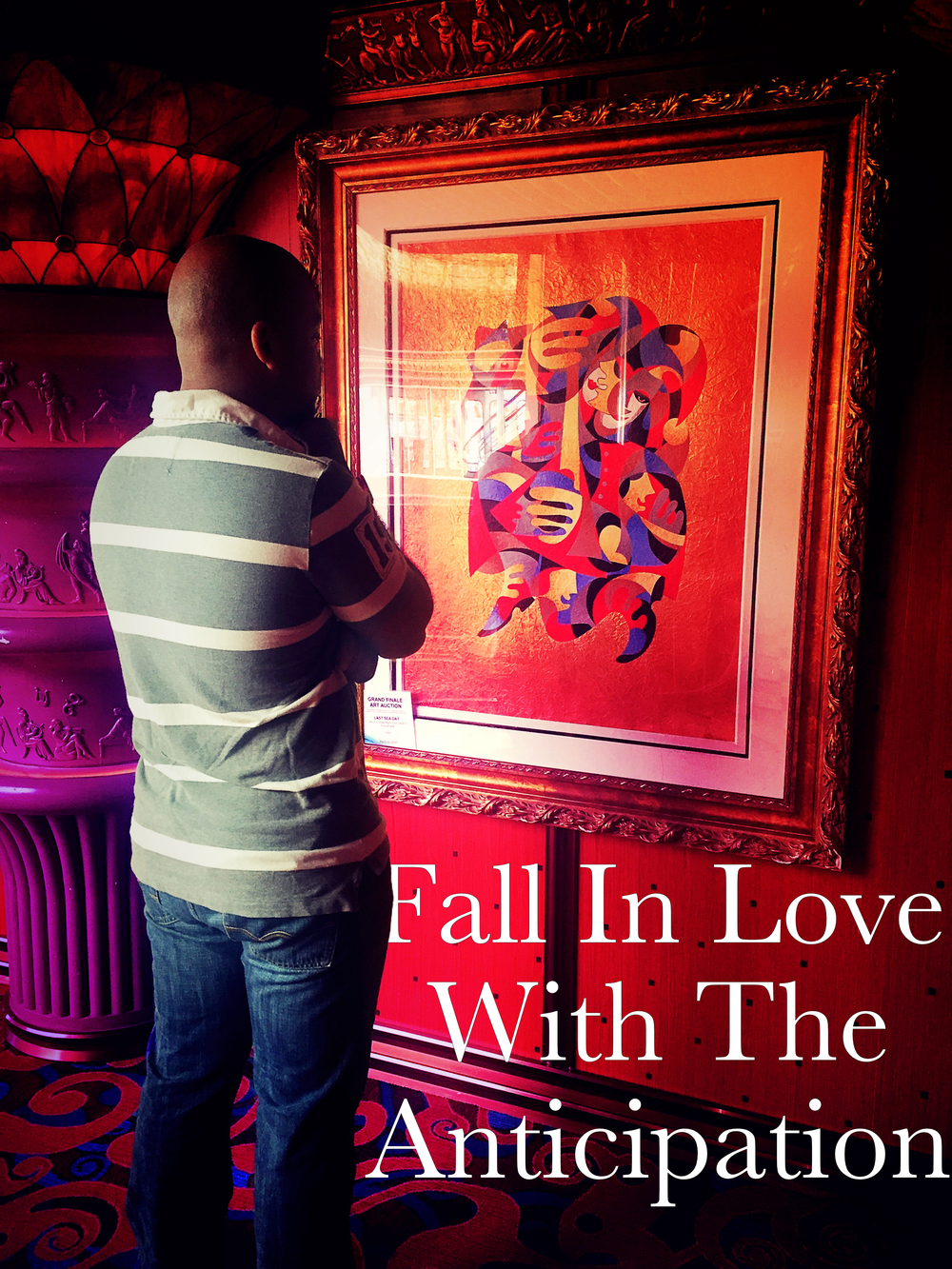 fall in love with anticipation Begotten Life