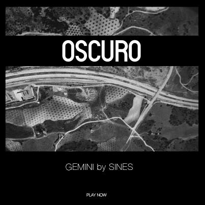 Mini Album art for the monthly music release at Oscuro NYC.
