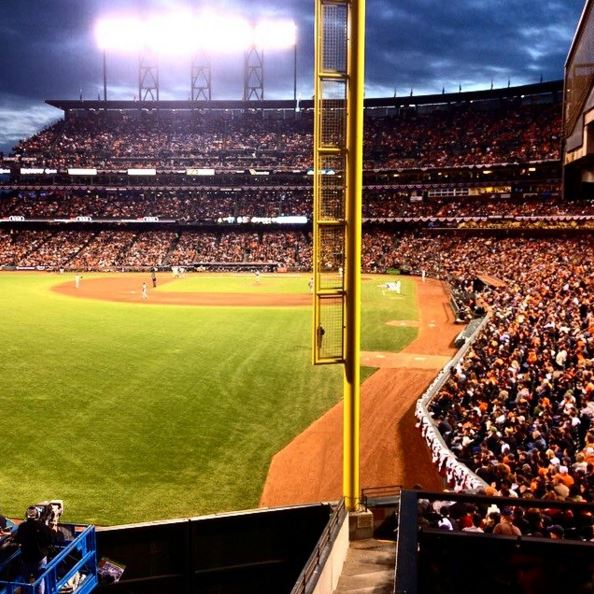 2012 World Series Game, San Francisco, California