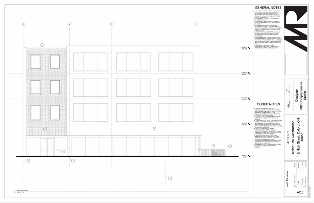 602 Studio - Sheet - A2-0 - North Elevation.jpg