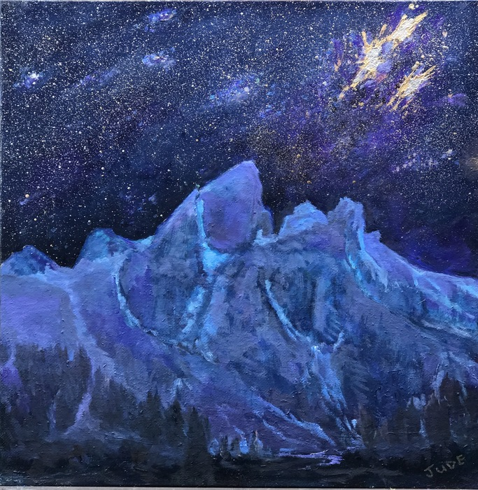 Jude Chilen - Wyoming Starry Night