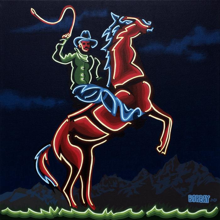 Borbay - Neon Cowboy