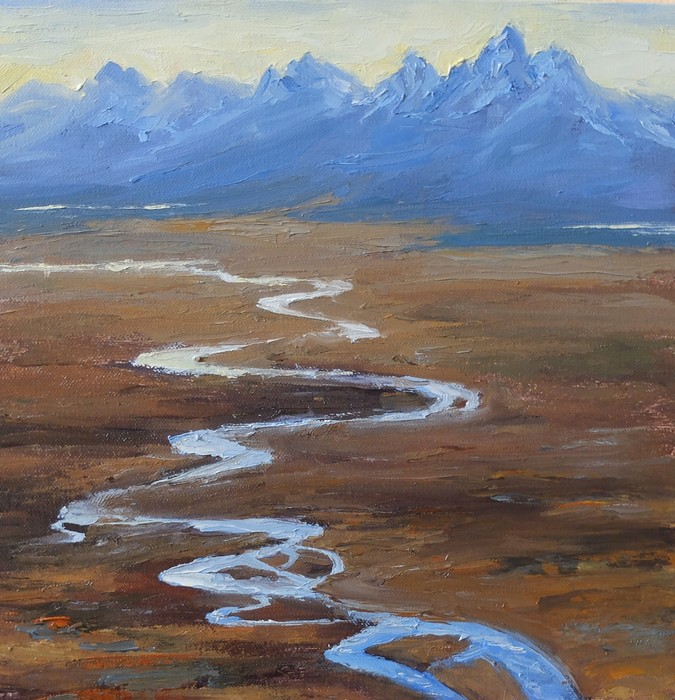 Alissa Hartman - Snake River Ribbon