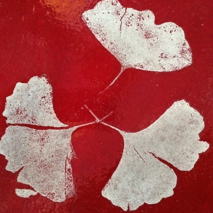 Rene Williams - Glass Fossil Ginkgo