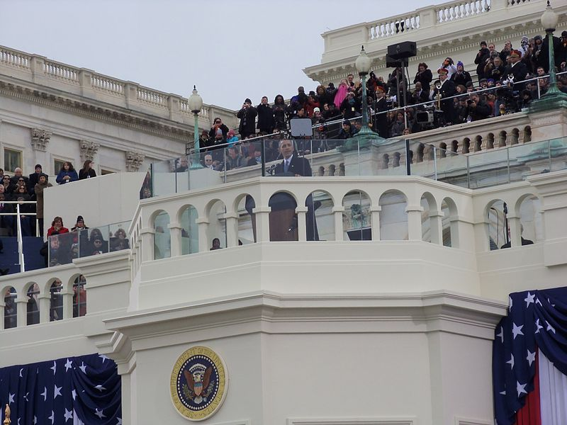 Obama speaks at his inauguration, 2013