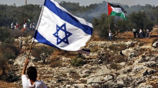 An Israeli-Palestinian standoff