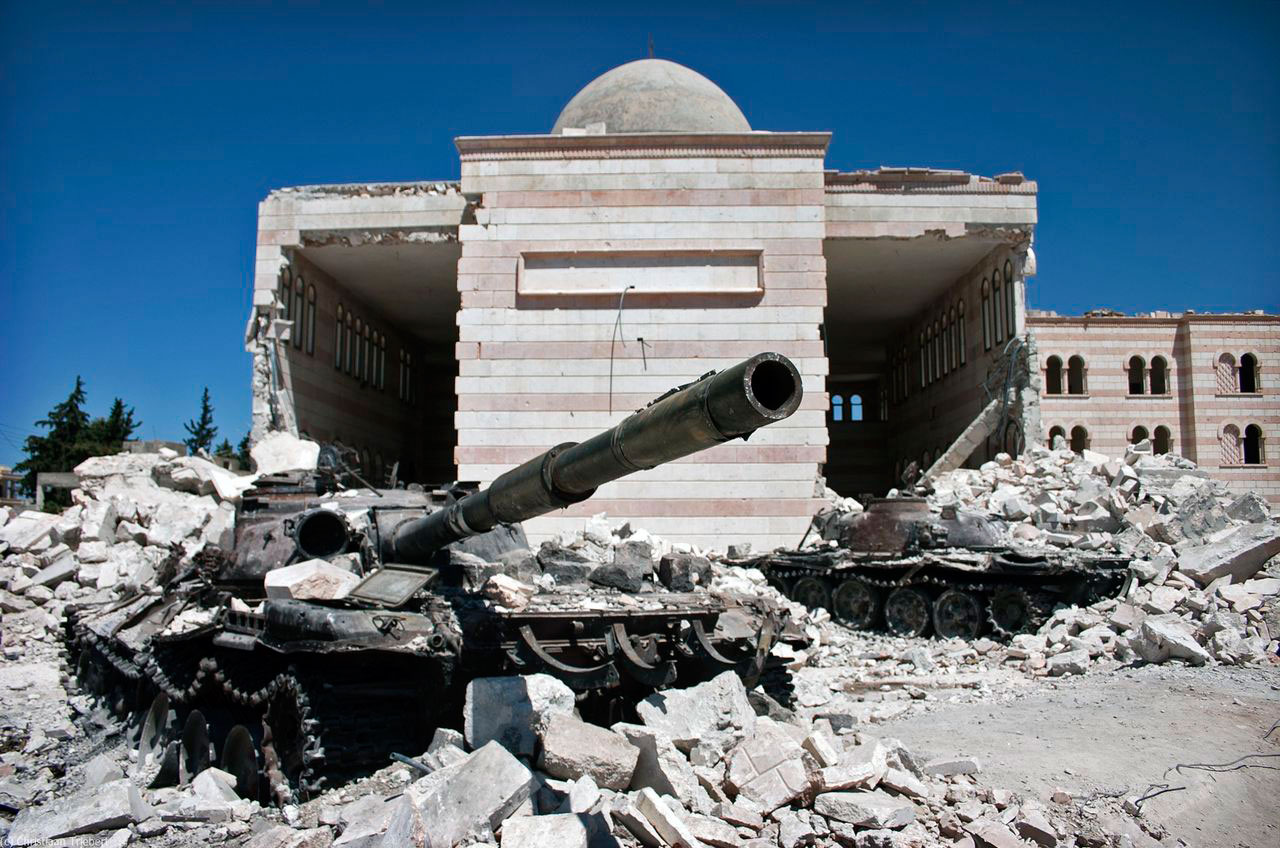 Damaged-The-Great-Mosque-in-Syria