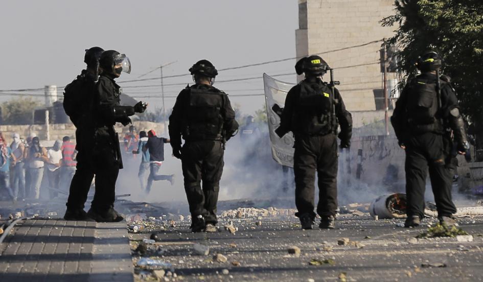 Israeli clash