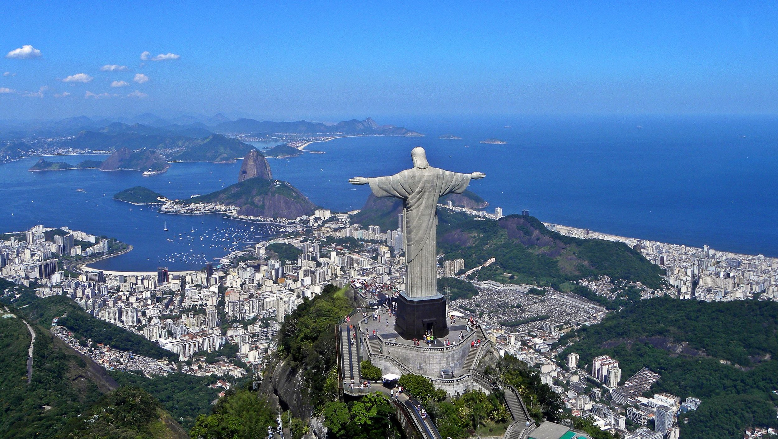 """Christ on Corcovado mountain"" by Artyominc - Template:Artyom Sharbatyan. Licensed under Creative Commons Attribution-Share Alike 3.0 via Wikimedia Commons -"