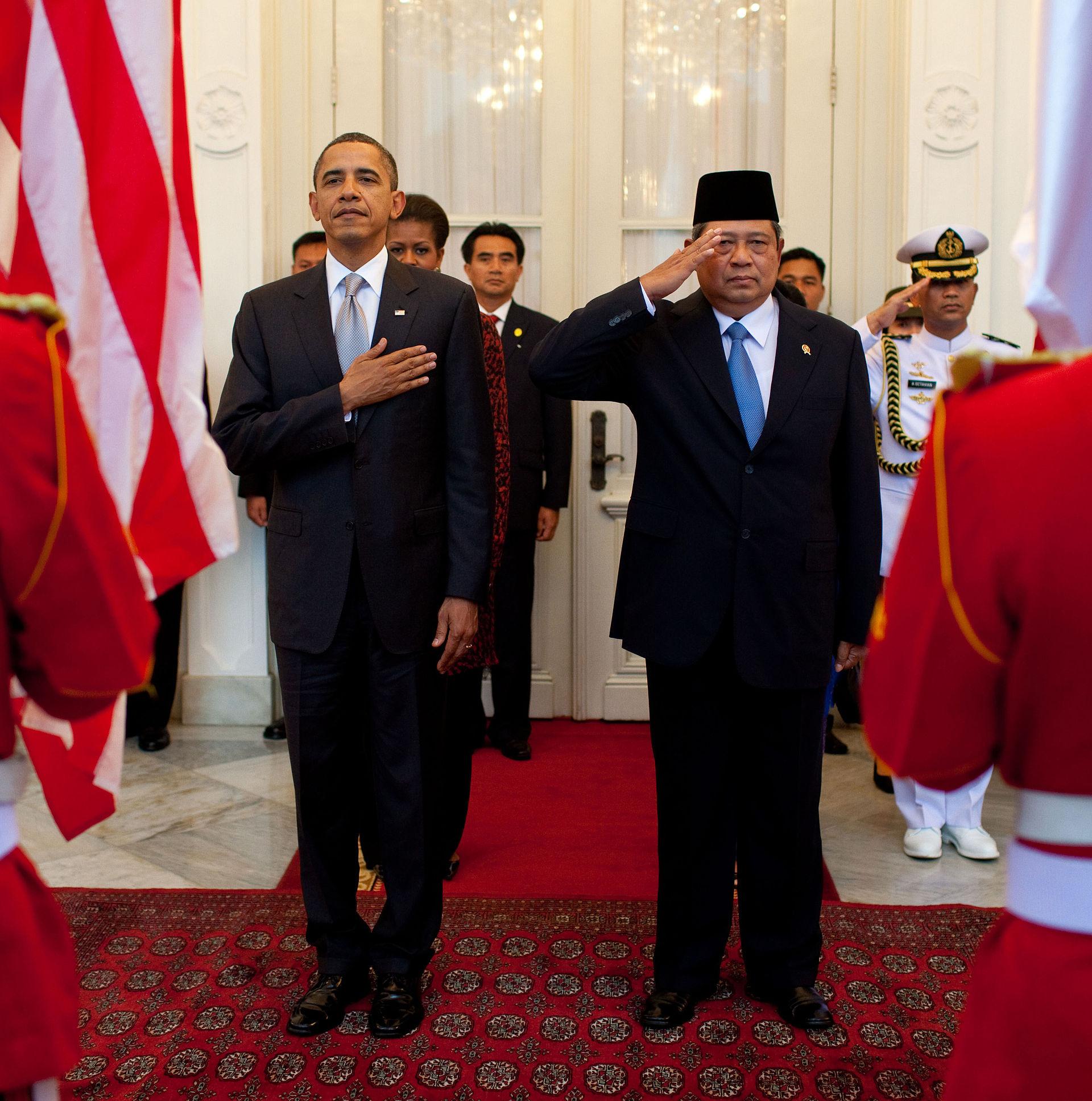 President Obama with Indonesian President Yudhoyono