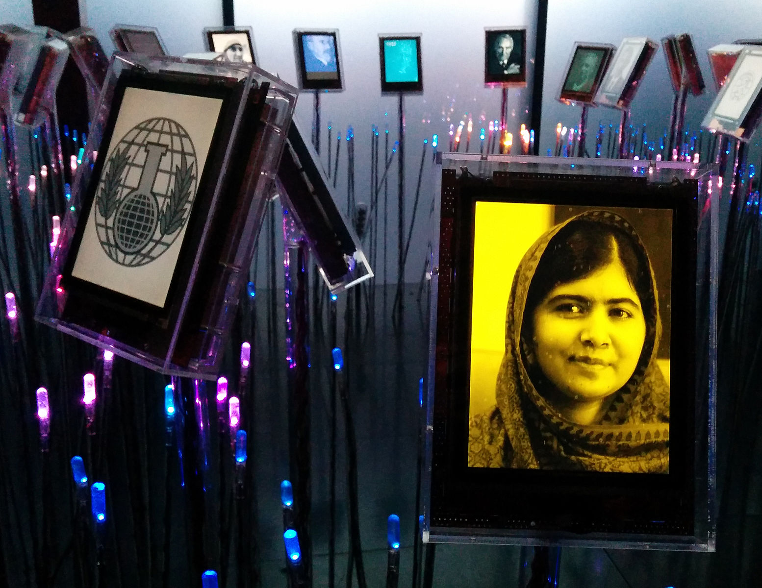 Expo_at_Nobel_Peace_Center_-_Malala_Yousafzai_2014-10-10