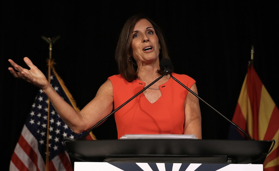 Republican candidate Martha McSally
