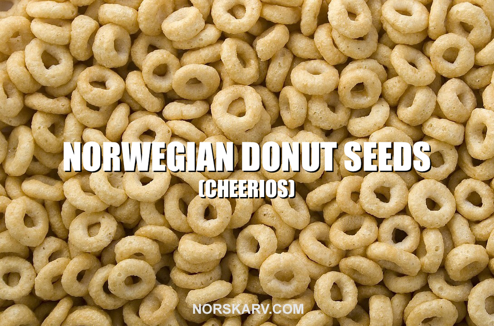 norwegian donut doughnut seeds meme alt for norge norskarv norway meme