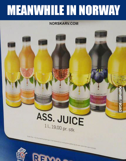 Meanwhile in norway meme ass juice norwegian norskarv alt for norge