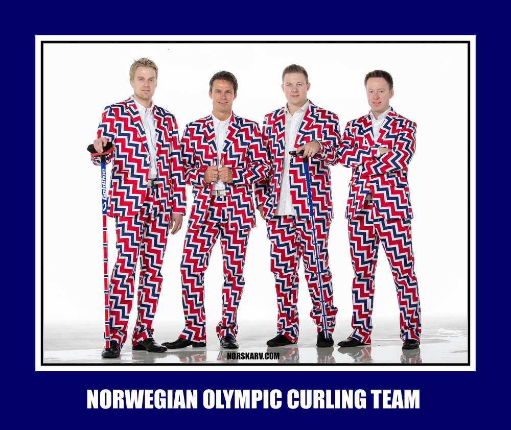 norwegian olympic curling team meme norway norskarv alt for norge