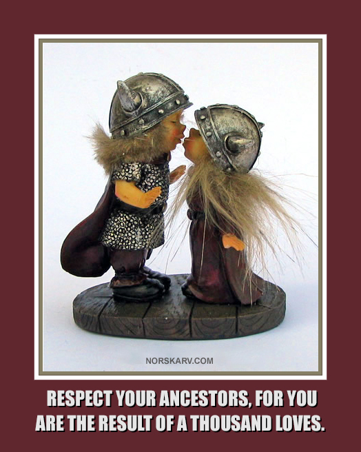 viking kiss kissing meme respect your ancestors for you are the result of a thousand loves norwegian norway norskarv alt for norge