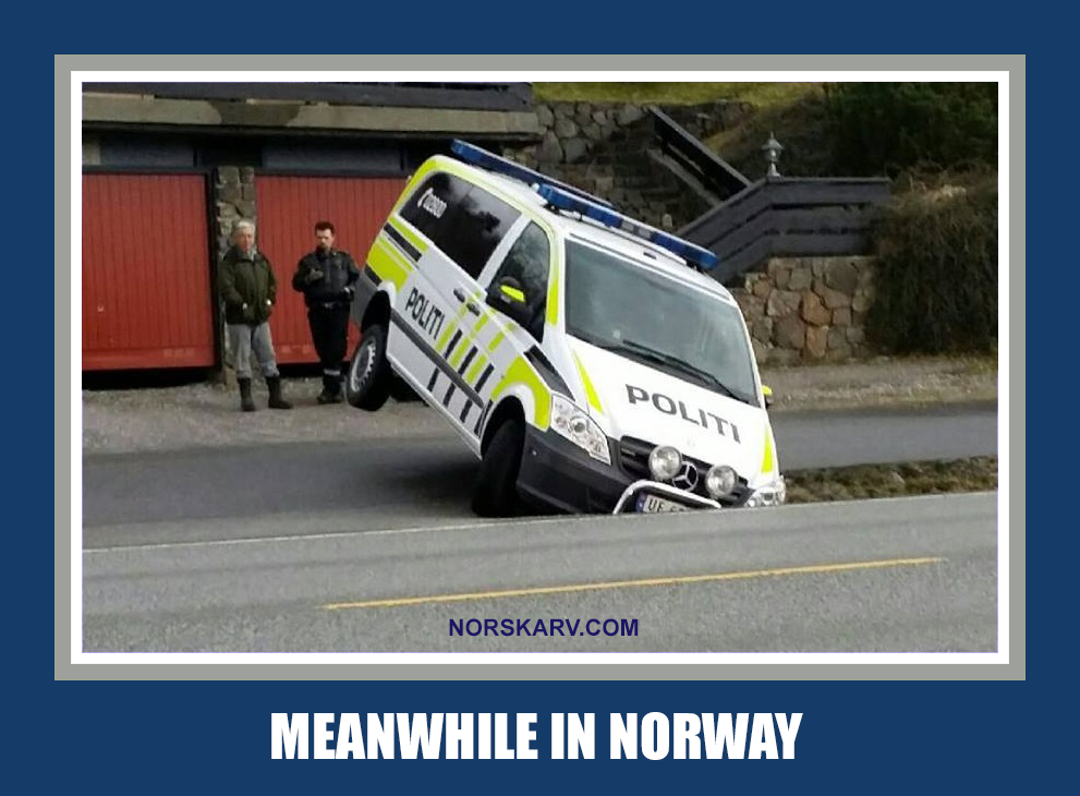 meanwhile in norway meme police politi norskarv norwegian alt for norge