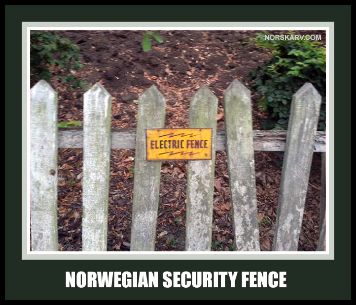norwegian electric security fence meme norway norskarv alt for norge funny humor humorous