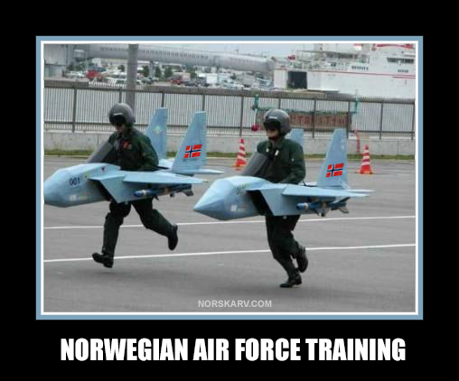 norwegian air force training meme norway norskarv alt for norge fun funny humor humorous wild crazy