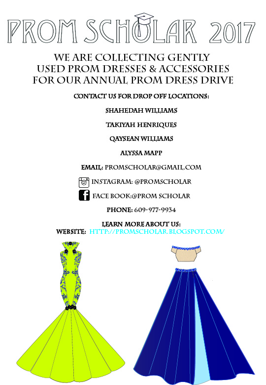 Every Year we host a Prom Dress Drive and we are collecting now