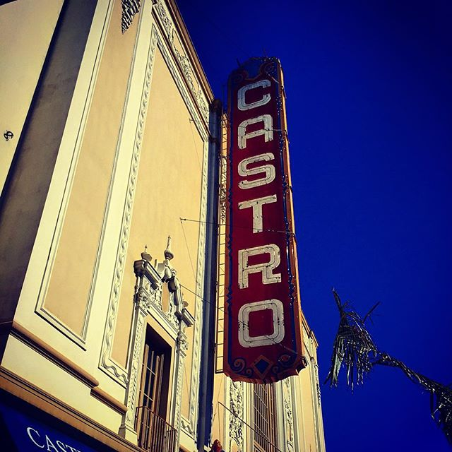Timothy L.Pflueger designed Spanish baroque facade for Castro Cinema. SF is a city of architectural intermixture, where Victorian and Mission revival blend with modern design, so our eyes are peeled checking the devil's details.  #sanfrancisco #cali #castro