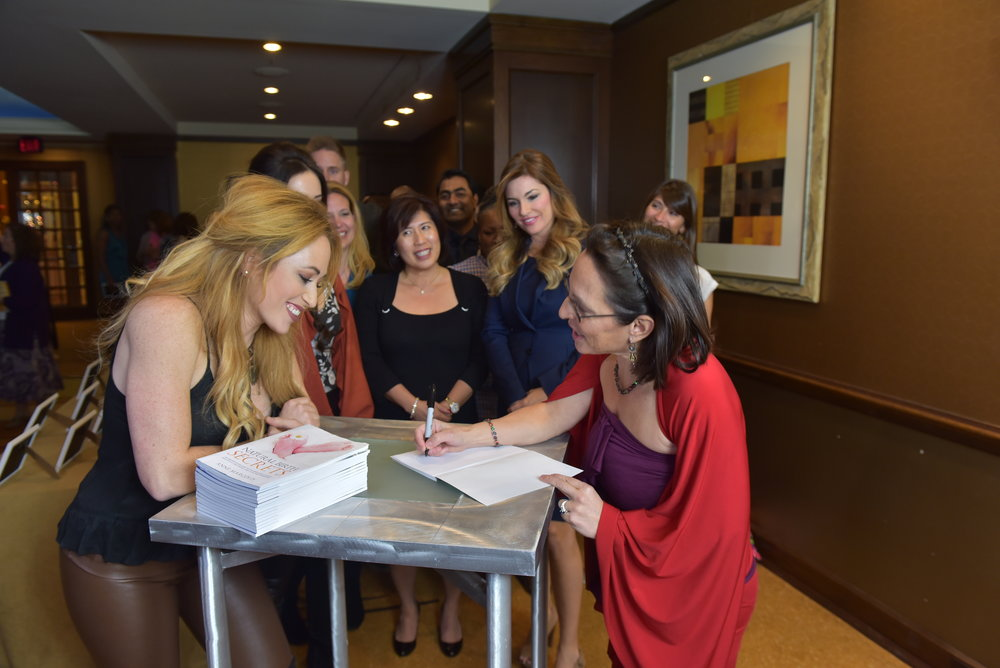 From my book signing trip!