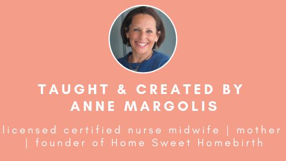 Anne Margolis  Birth Course Creator