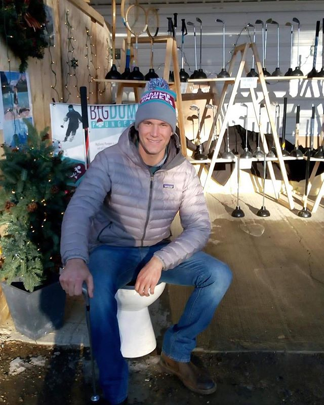 Big thank you to @michael_schallinger for coming out and helping at the Millarville Market! Also big thank you to my whole family for coming out to say hello. Millarville was a success and next weekend we start Spruce Meadows International Christmas Market!  #bigdumps #funnyshit #funnygift #plungersforall #christmaspresent #christmasmarket #shithappens