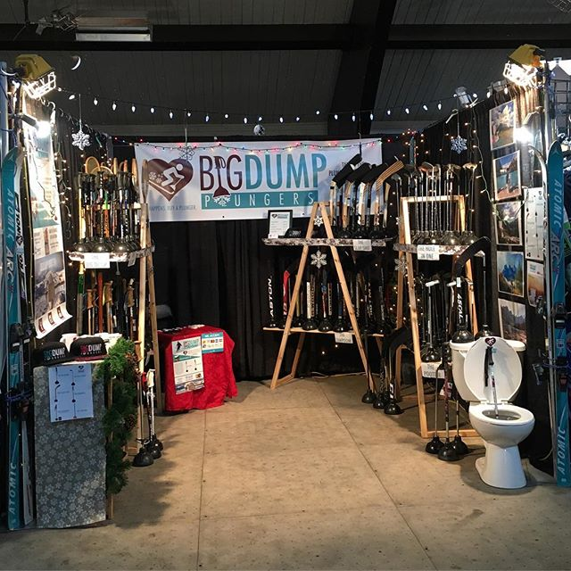 Here's what the booth looks like at the Spruce Meadows International Christmas Market!  #christmas #christmasgift #christmastime #market #sellingshit #plungersforall #funnygift #taketheplunge #forshitsandgiggles #yyc #calgary #travelalberta #entrepreneurlife #entrepreneurship #marketing #punsfordays #funny #newproduct