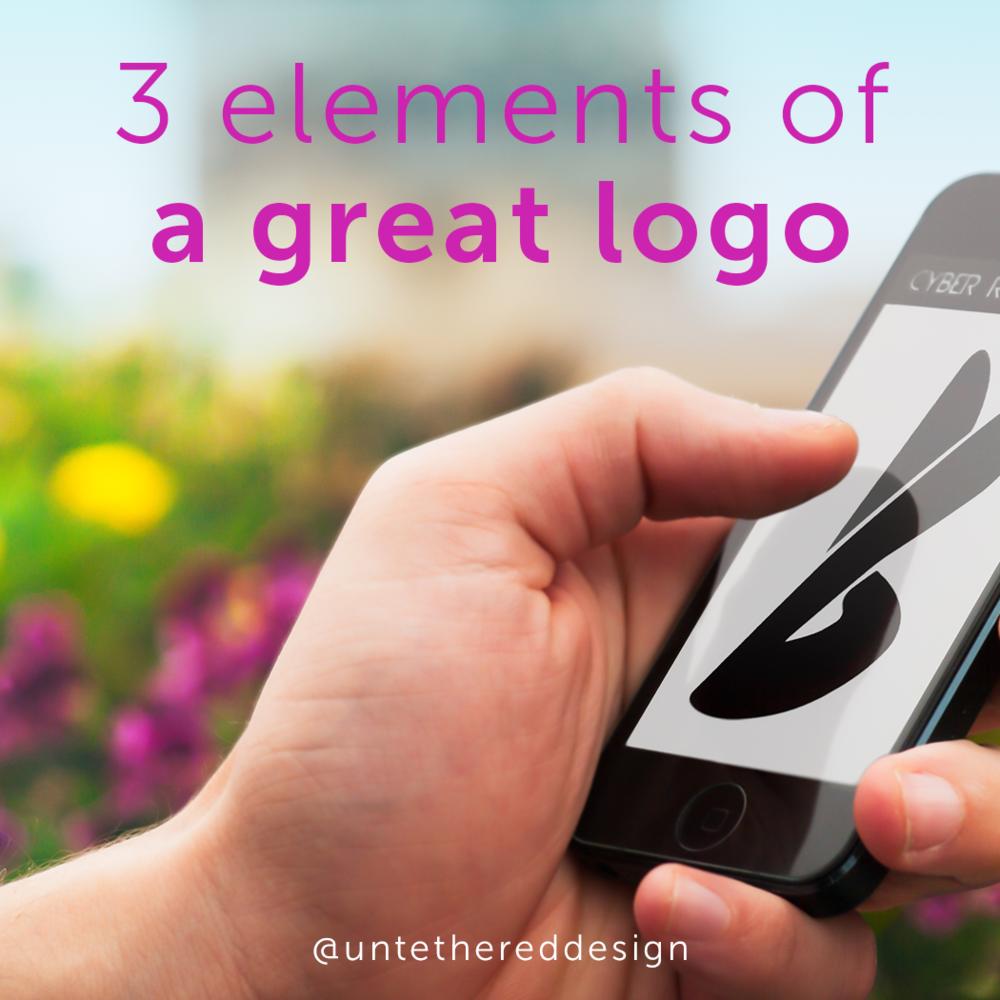 3 Elements Of A Great Logo Untethered Design Studio Branding