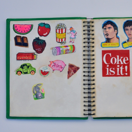 Reproduction of Sticker Book (Thorson)