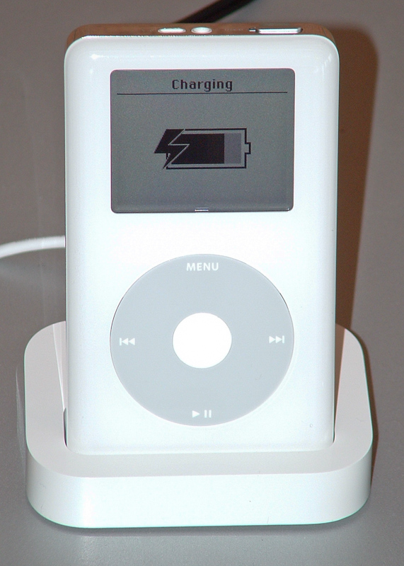 iPod 4th generation, 2004. Photo © A Jenks.