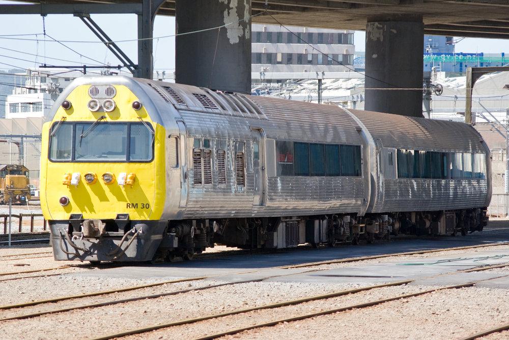 Silver Fern railcar