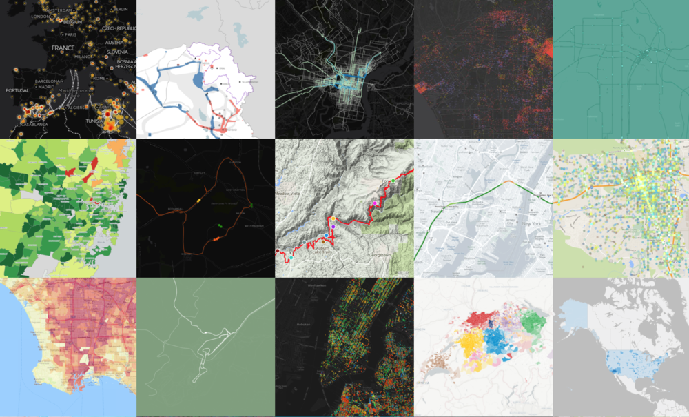 CartoDB Map Gallery