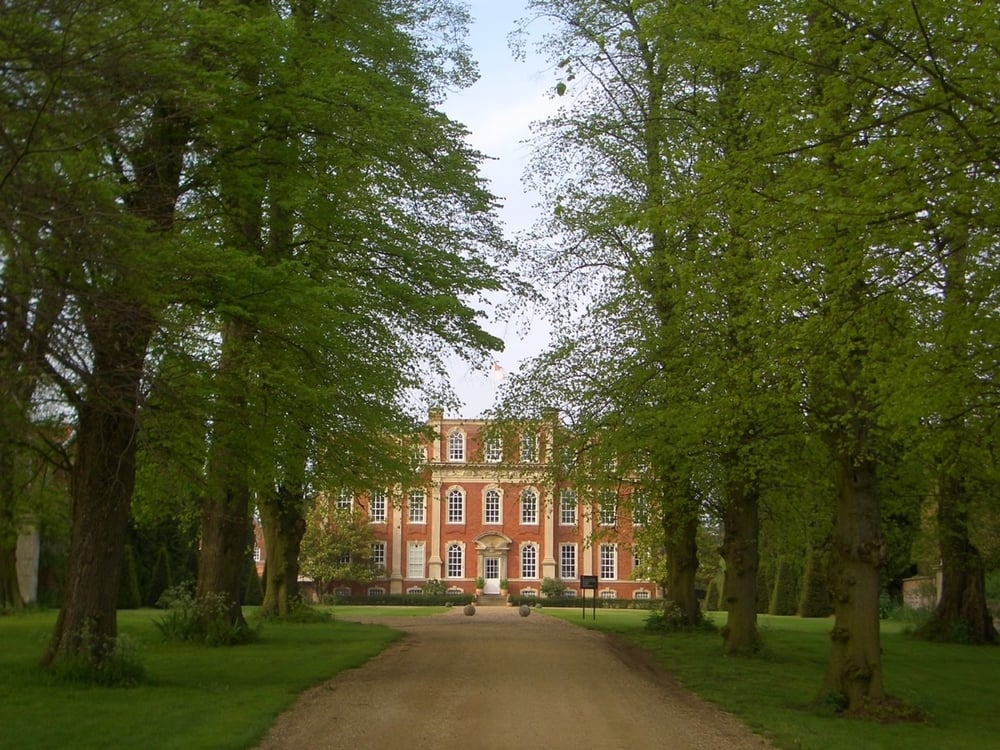 Kavli International Centre. Chichley Hall a Grade 1 listed country house in Buckinghamshire, near Milton Keynes. (Photo credit: Pietro Lio' - University of Cambridge)